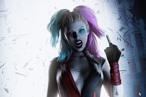 Harley Quinn Crazy Wallpaper
