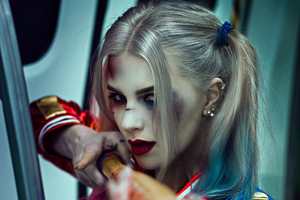 Harley Quinn Daddy Little Monster Wallpaper