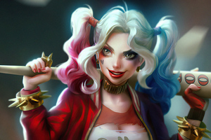 Harley Quinn Dadys Lil Monster 4k Wallpaper