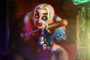 Harley Quinn Digital Artwork