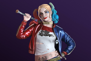 Harley Quinn Fan Art 5k