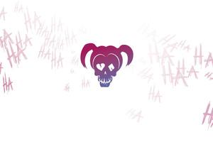 Harley Quinn Logo Minimalism