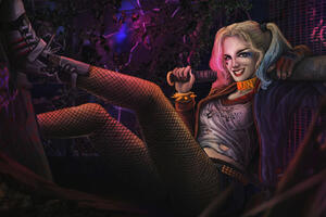 Harley Quinn New Arts