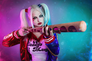 Harley Quinn Newcosplay Wallpaper