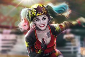 Harley Quinn Skateing Wallpaper