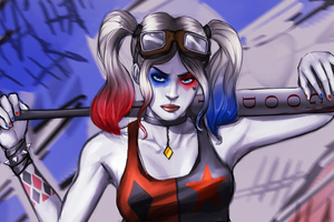 Harley Quinn Sketch Arts
