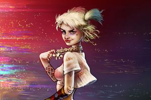 Harley Quinn Sketch Artwork 2020 Wallpaper