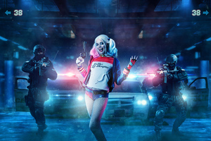 Harley Quinn Under Arrest