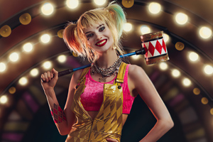 Harley Quinn With Hammer Cosplay 4k