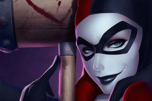 Harley Quinn4k Art