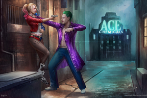 Harley Vs Joker