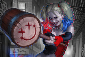 Harleyquinnart Wallpaper