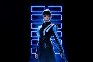 Haruka Abe As Akiko In Snake Eyes 8k Wallpaper