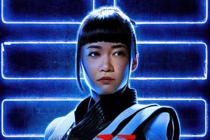 Haruka Abe As Akiko In Snake Eyes Wallpaper