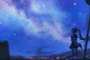 Hatsune Miku Anime Vocaloid Art