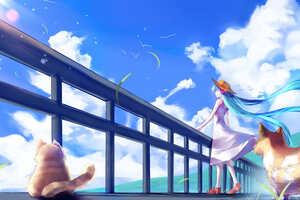 Hatsune Miku Beach 4k