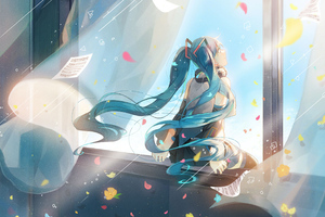 Hatsune Miku Vocaloid Anime 2020 4k Wallpaper