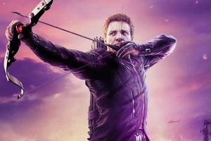 Hawkeye 2021 Wallpaper