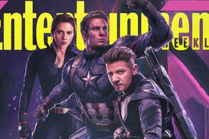 Hawkeye Captain America In Avengers Endgame 2019 Entertainment Weekly Wallpaper