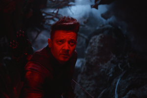 Hawkeye In Avengers Endgame Wallpaper