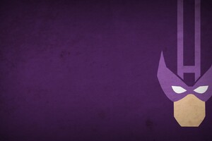 Hawkeye Minimalism Wallpaper