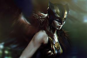 Hawkgirl Wallpaper