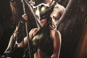 Hawkman And Hawkgirl 4k Wallpaper