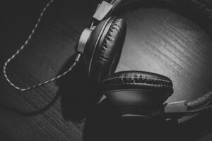 Headphones Monochrome