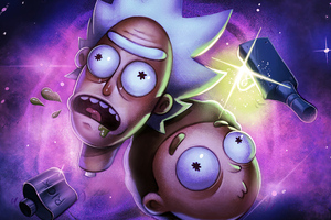 Heads Will Roll Rickn N Morty Wallpaper
