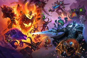 Hearthstone Erbe Der Drachen Game 2019 Wallpaper
