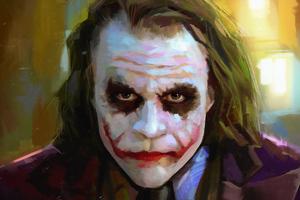 Heath Ledger As Joker 4k