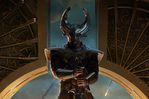 Heimdall Thor The Dark World Wallpaper