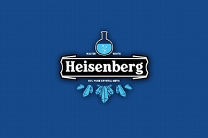 Heisenberg Brand Logo Drink Wallpaper