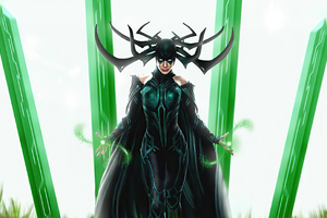 Hela Fan Artwork