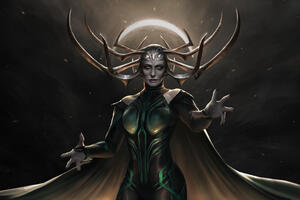 Hela The Goddess Of Death Wallpaper
