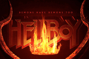 Hellboy 2019 Movie Logo