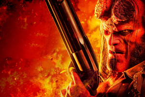 Hellboy 4k 2019 New Wallpaper