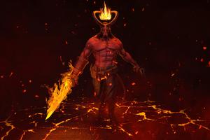 Hellboy 4k 2020 Wallpaper