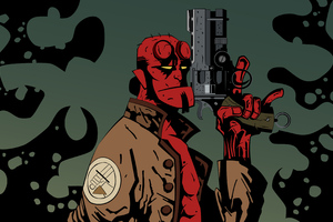 Hellboy 4k New Art
