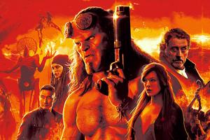 Hellboy 4k Poster Wallpaper