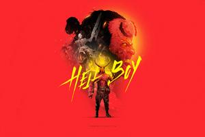 Hellboy 4kartwork Wallpaper