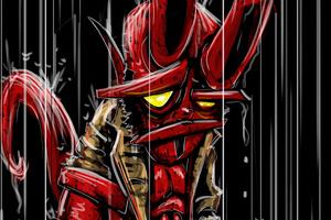 Hellboy Art New Wallpaper
