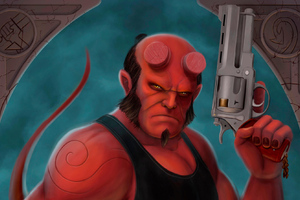 Hellboy Arts New