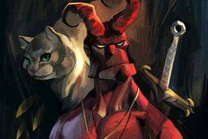 Hellboy Artwork