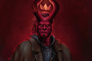 Hellboy Artwork New