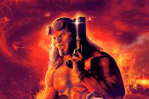 Hellboy China Poster
