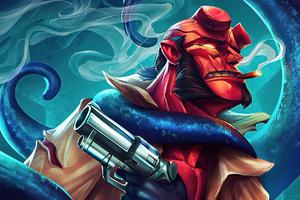 Hellboy Gun Boy