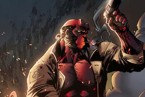 Hellboy Gun Wallpaper
