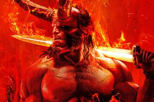 Hellboy Movie 2019 5k