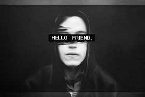 Hello Friend Mr Robot Wallpaper